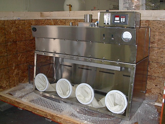 stainless steel glovebox